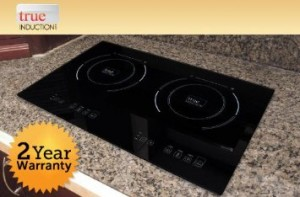 Induction Cooktop Reviews - True Induction S2F3 Double Burner Counter a