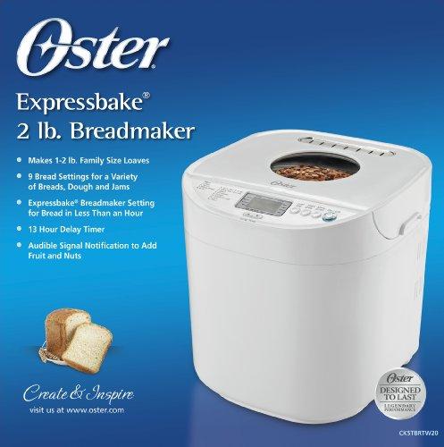Oster Ckstbrtw20 Expressbake Breadmaker Review