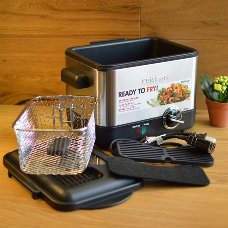 Cuisinart CDF-100 Compact Deep Fryer Review